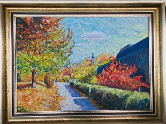 Ara Avetisyan. Autumn.at the fortress of Marienberg. - photo 1