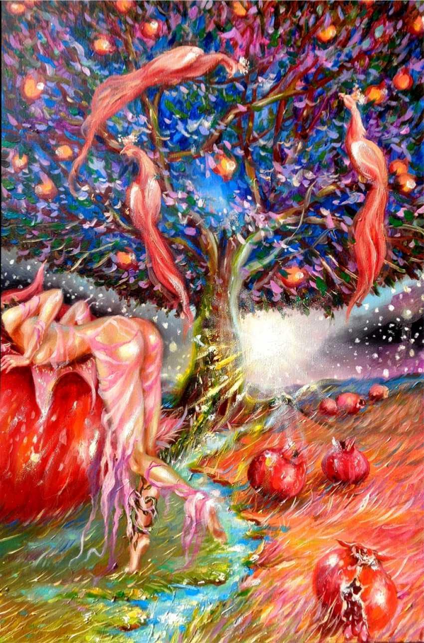 Anastasia Guryanova. Pomegranate nymph temptation - photo 1