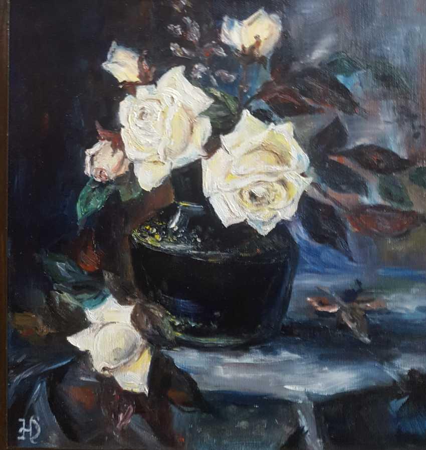 "Nataliia Zhyzhko. ""Yellow roses"" - photo 1"