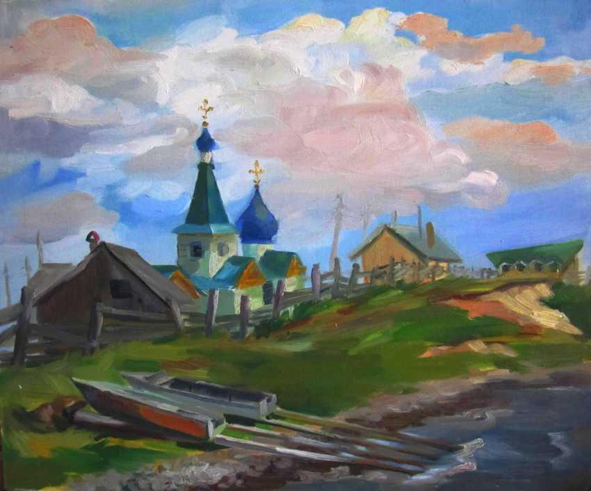 Anastasiia Khaliova. Church on the shore of Baikal - photo 1