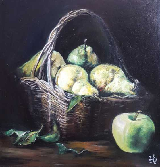 "Nataliia Zhyzhko. ""Still life with Apple"" - photo 1"