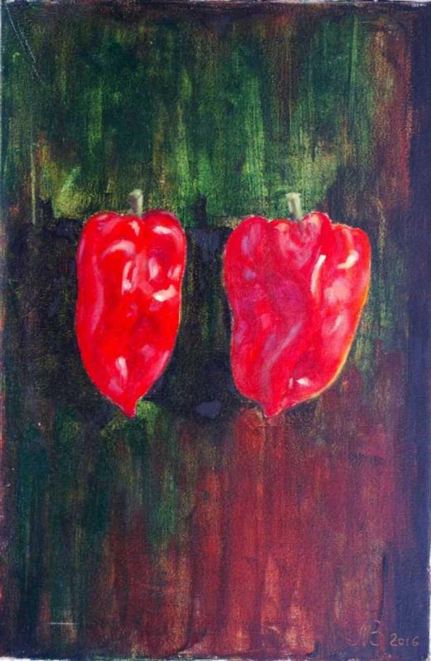 Nataliia Bahatska. Two Red Peppers - photo 1
