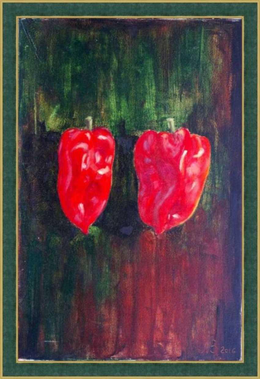 Nataliia Bahatska. Two Red Peppers - photo 2