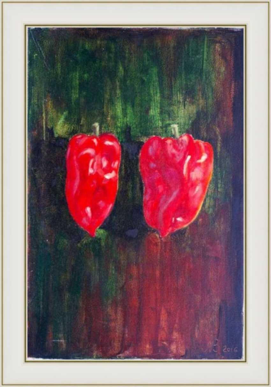 Nataliia Bahatska. Two Red Peppers - photo 3