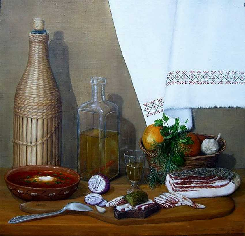 Nataliia Bahatska. Still life with the Hooch - photo 1
