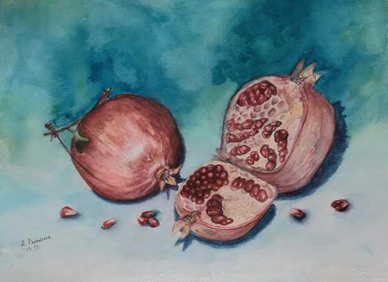 Anastasia Beytuzun. Watercolor pomegranate - photo 1