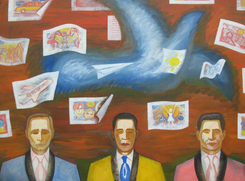 Sergey Borisov. Dove of peace Picasso! - photo 1