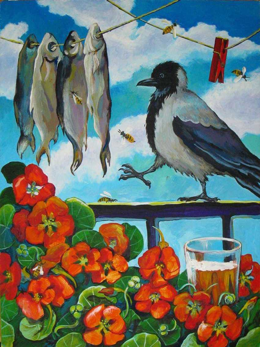 "Sviatlana Vetrava. ""Crow. Fish. Capers."" - photo 1"