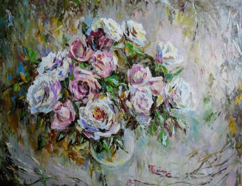 Svetlana Kruglov. Pink and white bouquet - photo 1