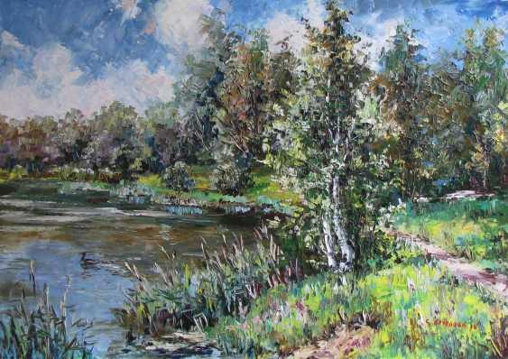 Svetlana Kruglov. Birch pond - photo 1