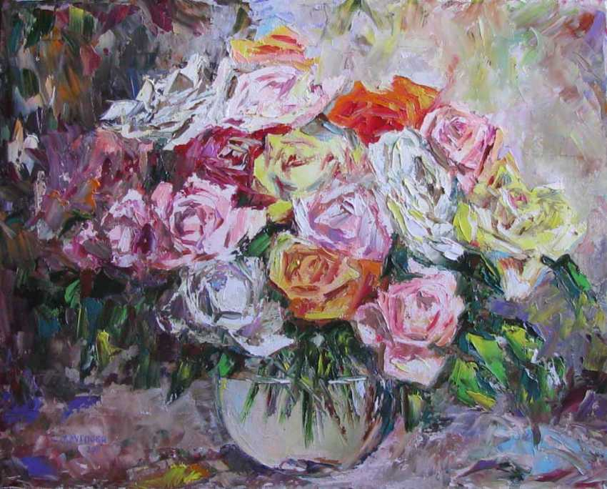 Svetlana Kruglov. A bouquet of roses - photo 1