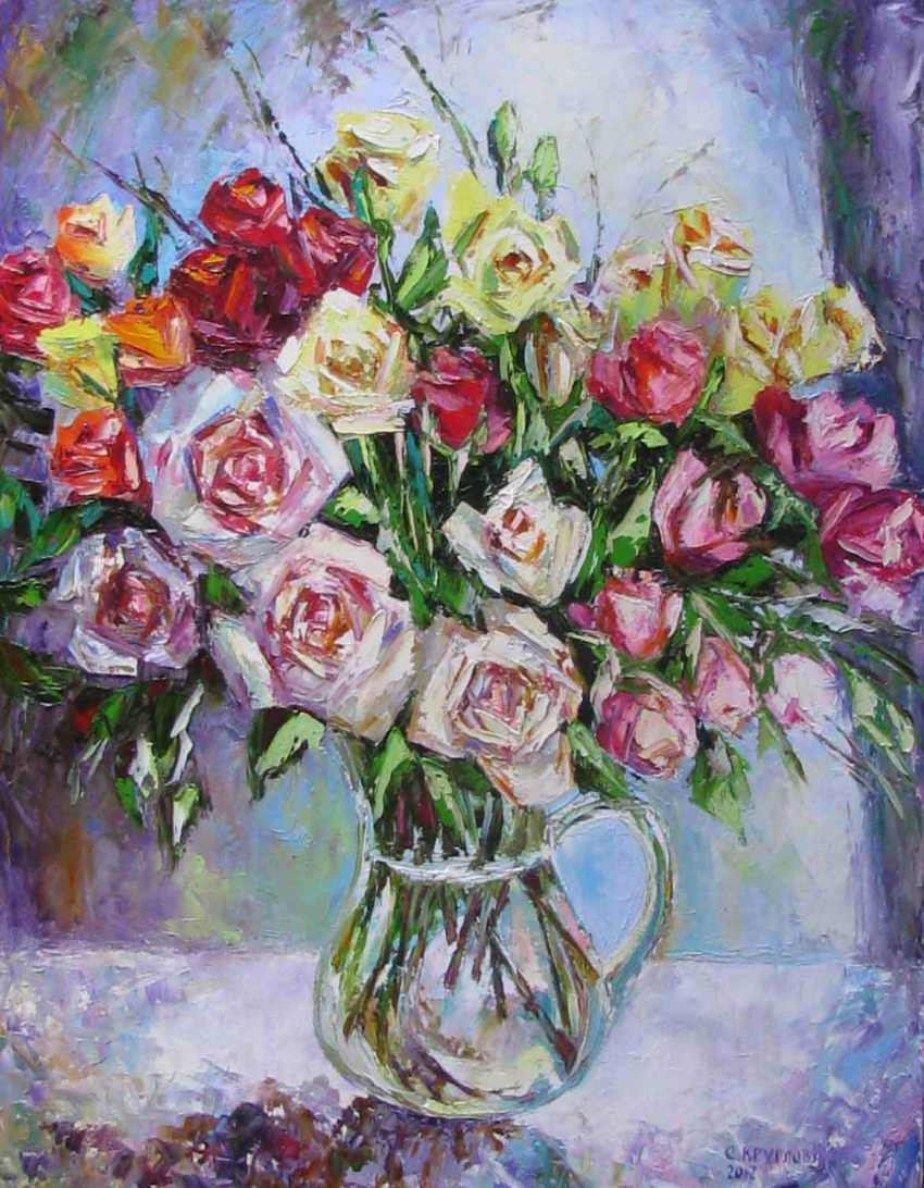 Svetlana Kruglov. A bouquet of roses - photo 1
