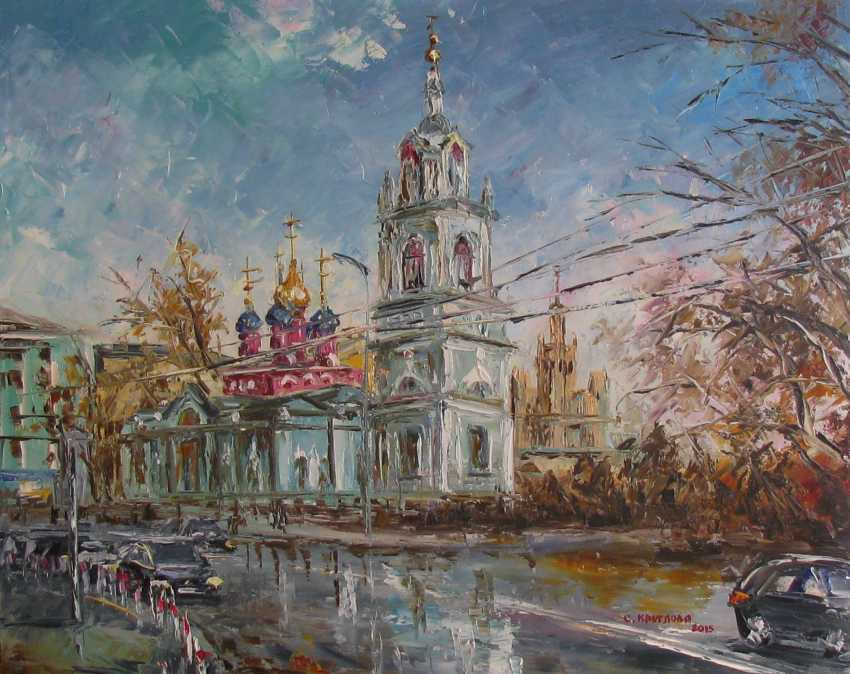 Svetlana Kruglov. Barbarian. The Church of St. George on Pskov mount - photo 1