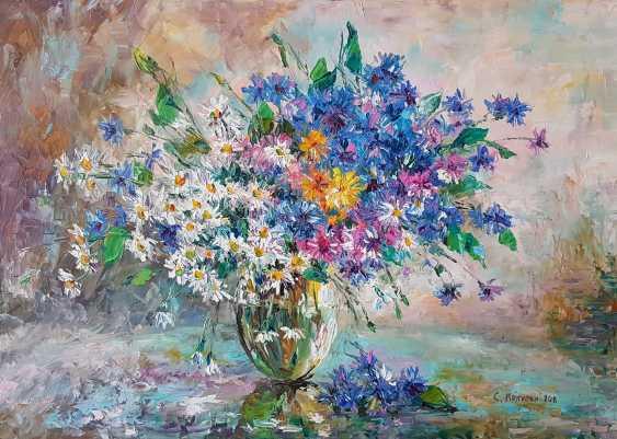 Svetlana Kruglov. Cornflowers and chamomile fields - photo 1