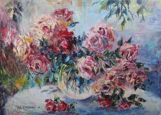 Svetlana Kruglov. Rain in the garden - photo 1