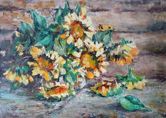 Svetlana Kruglov. Hot sunflowers - photo 1