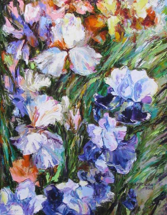 Svetlana Kruglov. Irises - photo 1