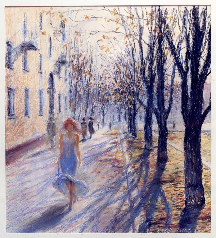 """YURY LESHYK. """"Spring girl"""" - photo 1"""