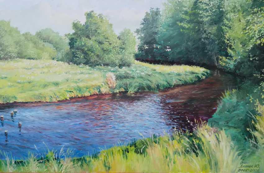 """YURY LESHYK. """"River Myshanka"""" - photo 1"""