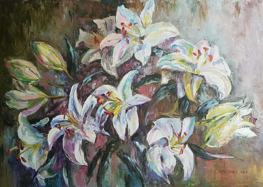 Svetlana Kruglov. Royal lilies - photo 1
