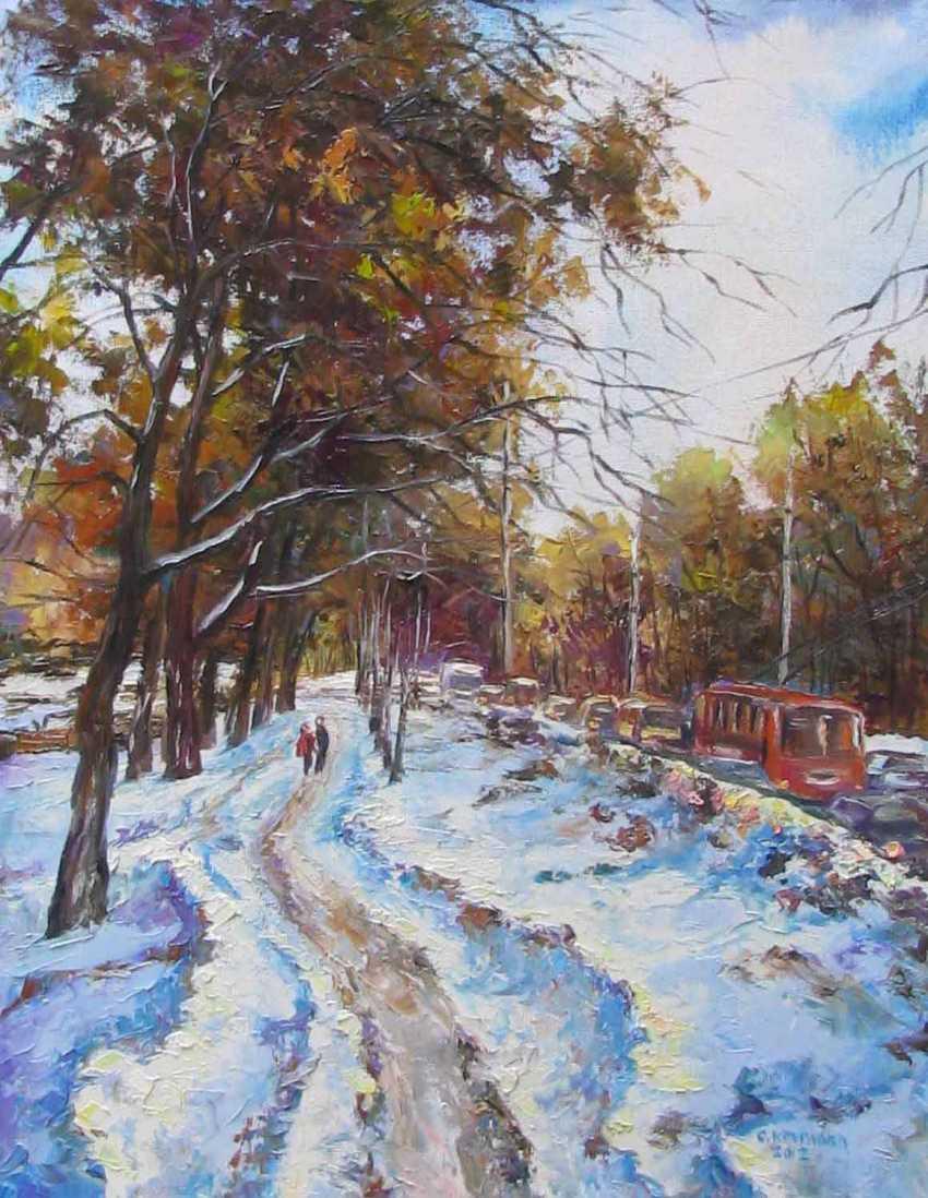 Svetlana Kruglov. Red trolley - photo 1