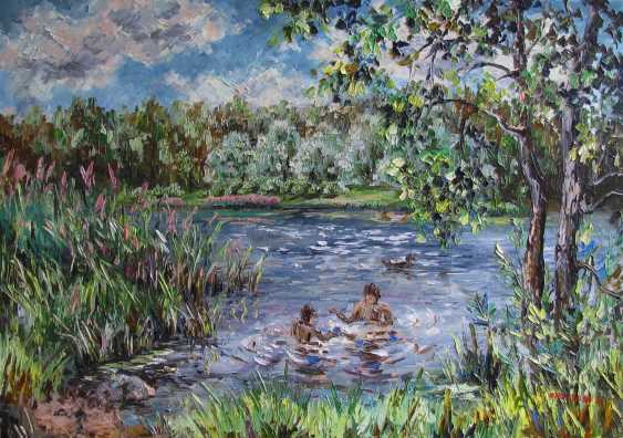 Svetlana Kruglov. Swimming in the pond - photo 1