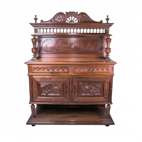 Vintage French sideboard the mid-nineteenth century - photo 1