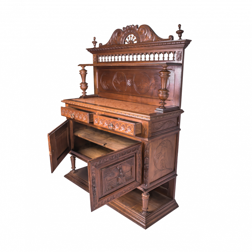 Vintage French sideboard the mid-nineteenth century - photo 2