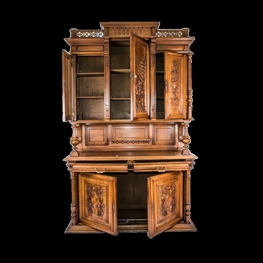 French sideboard solid walnut mid-nineteenth century - photo 2