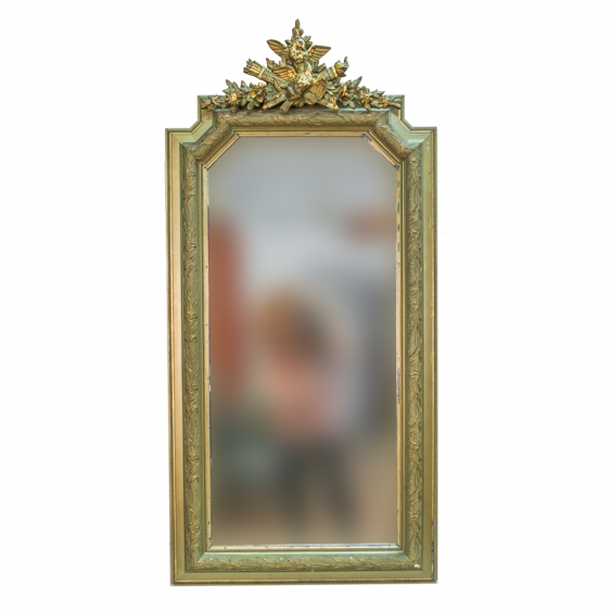 French mirror in the Empire style of the late XIX century - photo 1