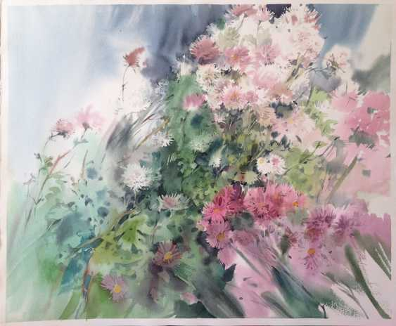 Zoia Emelyanenko. The time of chrysanthemums. Сhrysanthemum time. - photo 1
