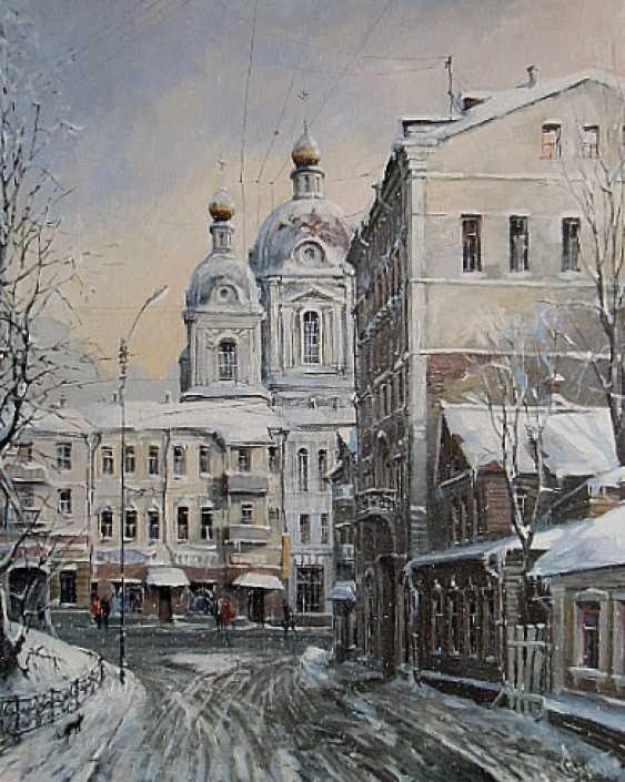 Aleksandr Starodubov. Moscow winter. Moscow winter. - photo 1
