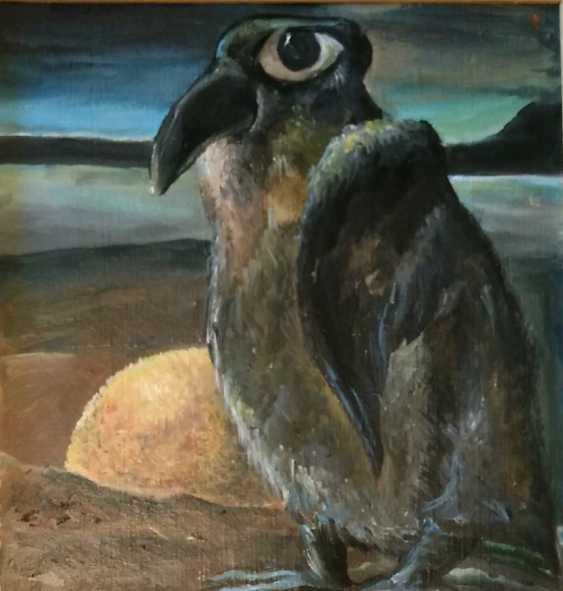Tatyana Pavlova. Penguin with orange - photo 2