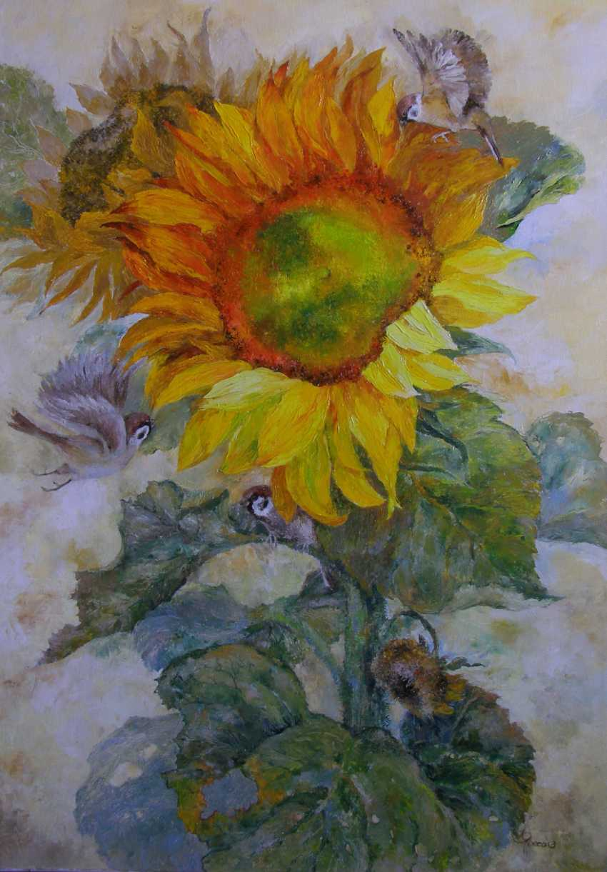 Irina Yaresko. Mature sunflower - photo 1