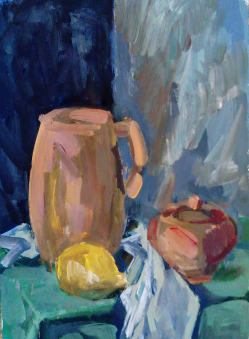"IVAN KUZIN. ""Still life with lemon"" - photo 1"