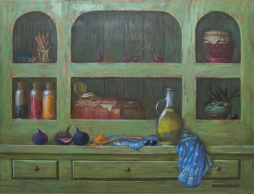 Roman Musiienko. Still life with figs - photo 1