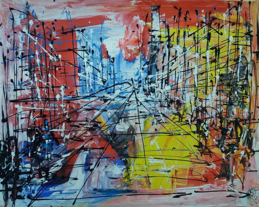 Bob Usoroh. city sketch - photo 1