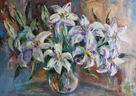Svetlana Kruglov. Lilies in a vase - photo 1