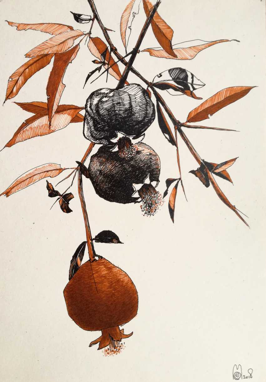 Ekaterina Marakhovskaya. A branch of pomegranate - photo 1