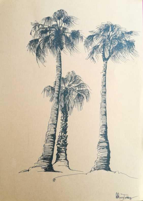 Екатерина Мараховская. Три пальмы - фото 1