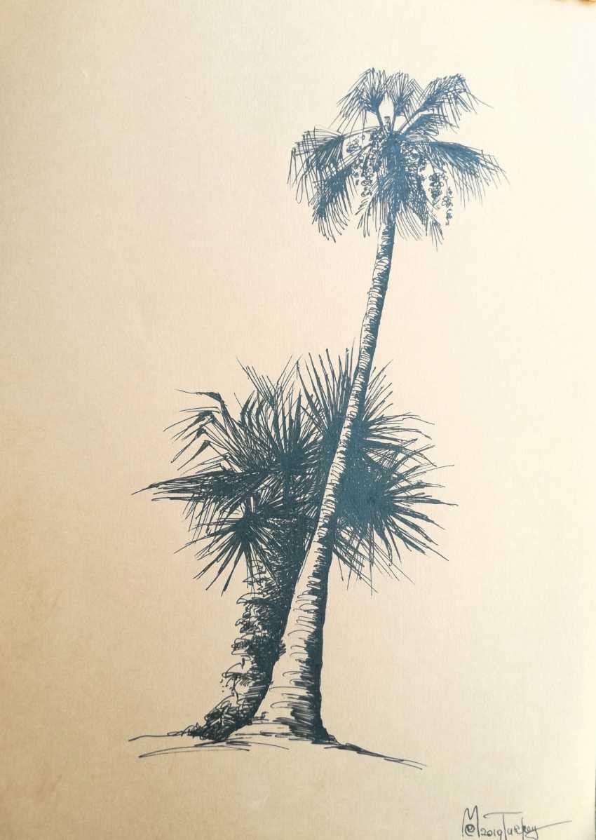 Ekaterina Marakhovskaya. Palm trees - photo 1