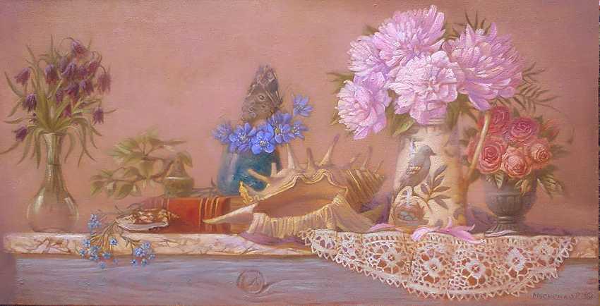 Roman Musiienko. Still life with flowers - photo 1