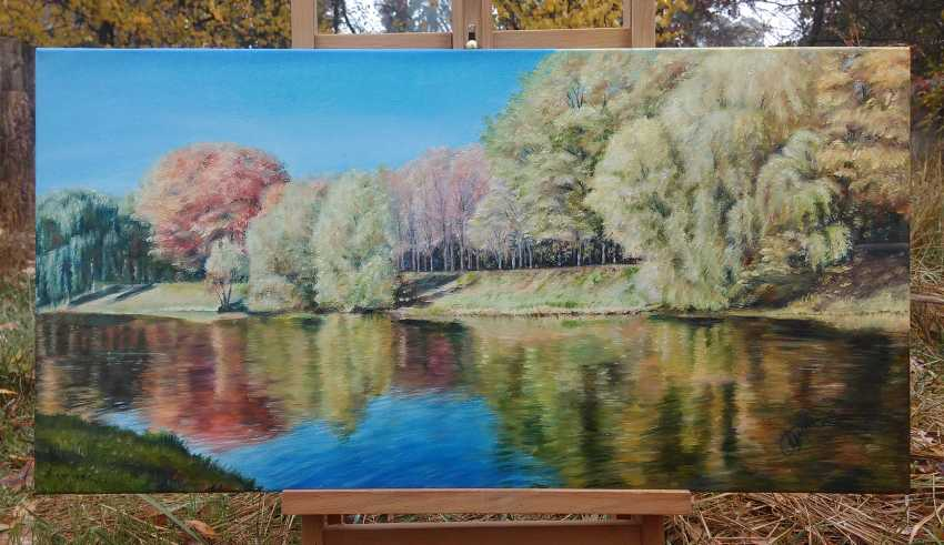 Oksana Borovik. Autumn river - photo 2