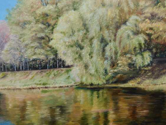 Oksana Borovik. Autumn river - photo 3