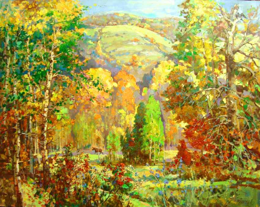 Andrey Mishagin. A warm autumn day - photo 1