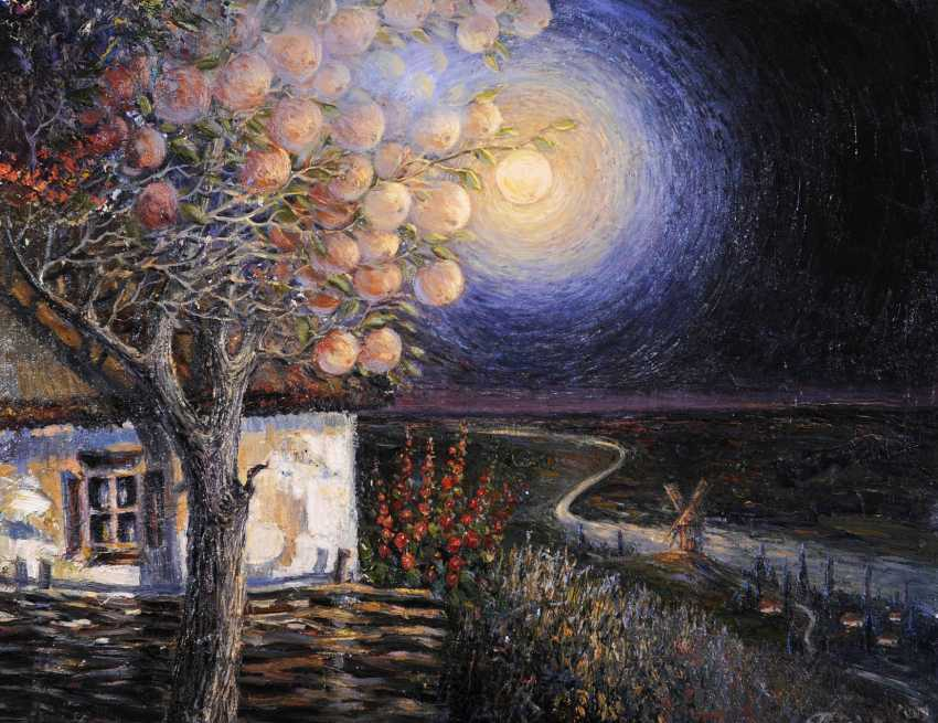 Galina Morozova. Apple in the night lights - photo 1