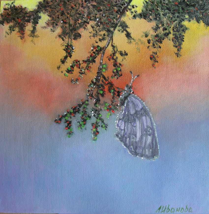 Lidiya Ivanova. Le papillon. - photo 1