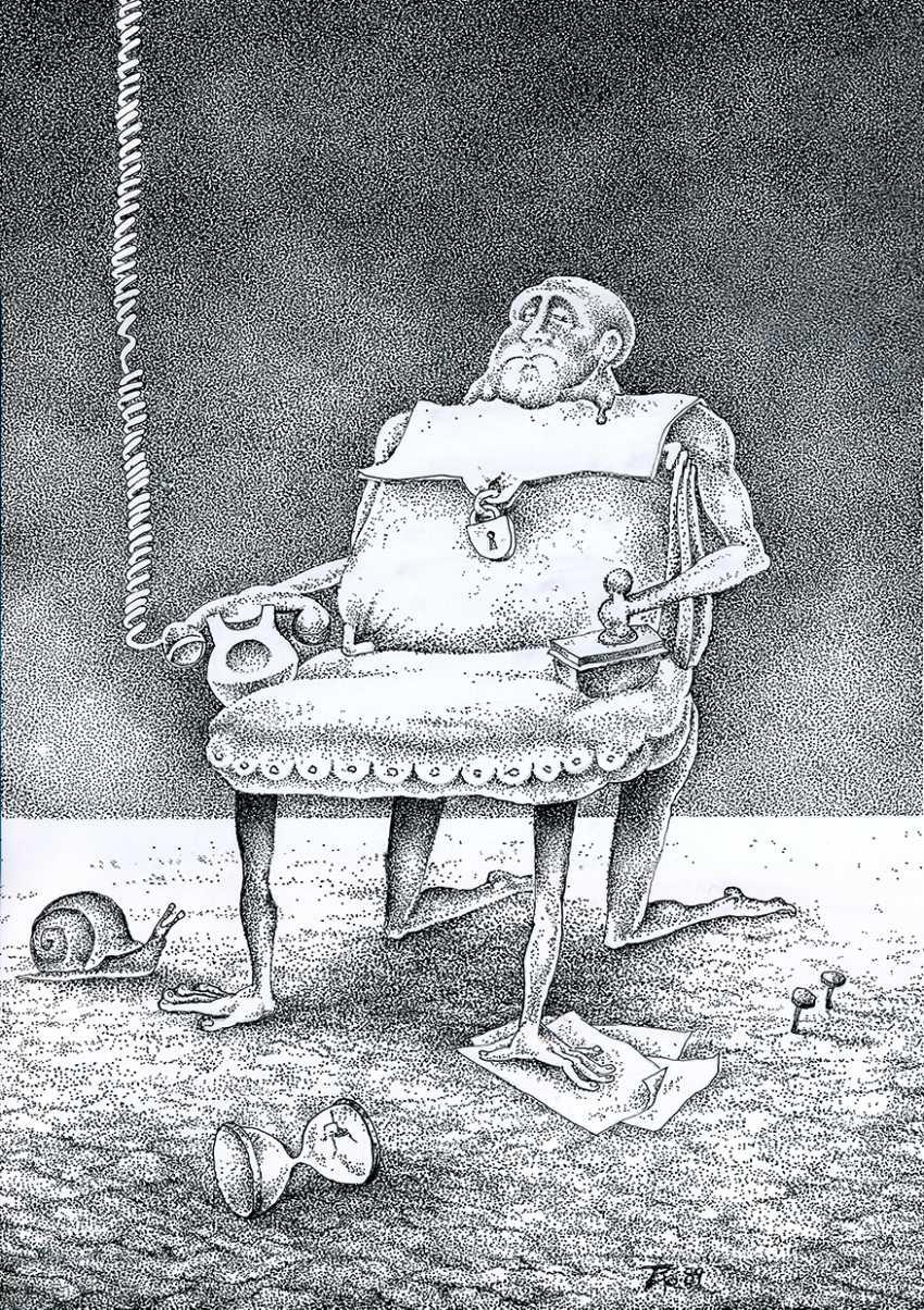 Сергей Тормышев. «Человек-кресло» - фото 1