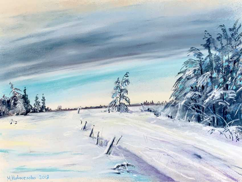 Masha Novoselova. Winter road on a mountain Vuokatinvaara - photo 1