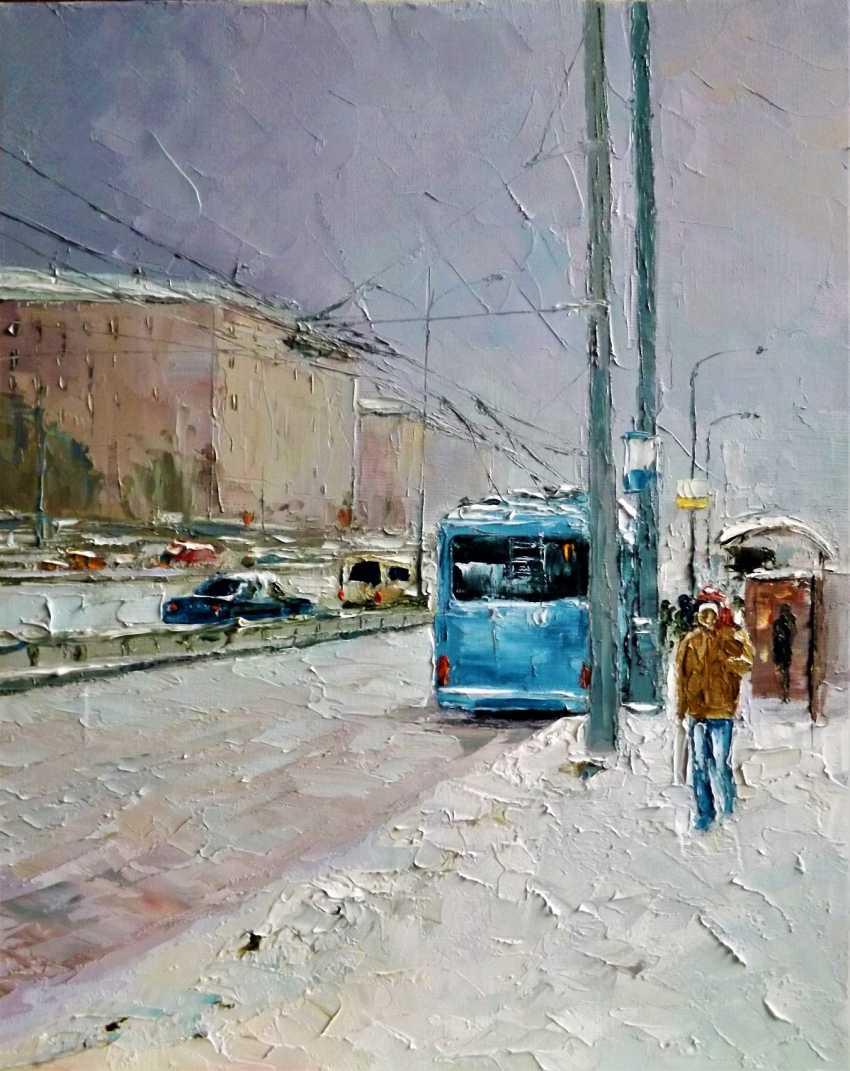 Sergey Efremov. Blue trolley - photo 1